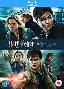 Harry Potter And The Deathly Hallows Parts 1&2 [Blu-ray] [2011] [Region Free]