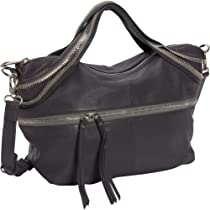 Hot Sale Kelsi Dagger Mackenzie Satchel,Charcoal,One Size