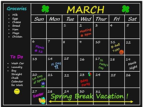 Chalkboard-Calendar-Sticker-Blackboard-Organizer-237-x-177-Inches-Wall-Decal-Agenda-Monthly-Planner-for-Home-Kitchen-Office-Dorm-Fridge-Memo