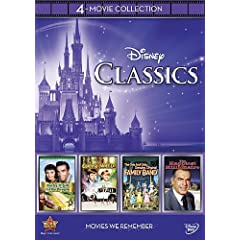 Disney 4-Movie Collection: Classics (Gnome-Mobile / Darby O'gill & Little People / One & Only Genuine Family / Happiest Millionaire)