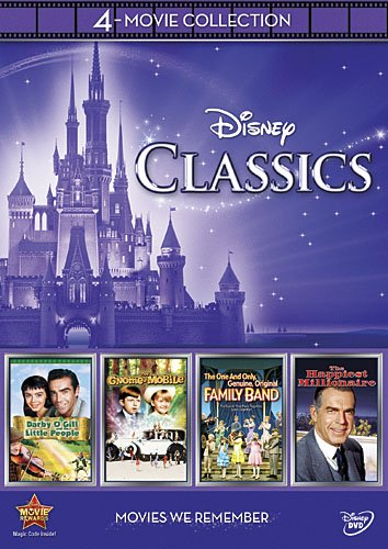51XIIpzaGWL Disney 4 Movie Collection: Classics (Gnome Mobile / Darby Ogill & Little People / One & Only Genuine Family / Happiest Millionaire)