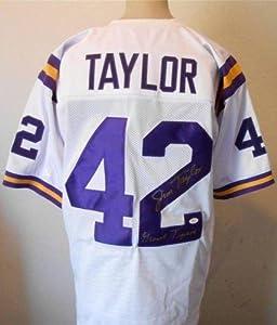 Jim Taylor signed Geaux Tigers jersey Witness hologram & coa LSU Tigers - JSA... by Sports+Memorabilia