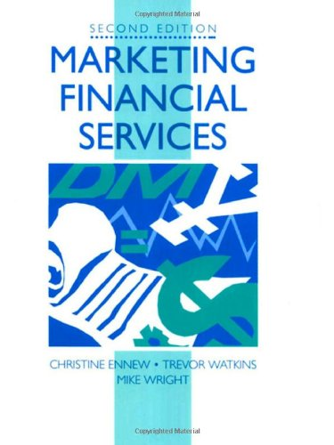 Marketing Financial Services (Marketing Series)