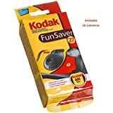 Kodak Fun Saver with Flash and ISO 400 27 Exposures, (10 Pack)