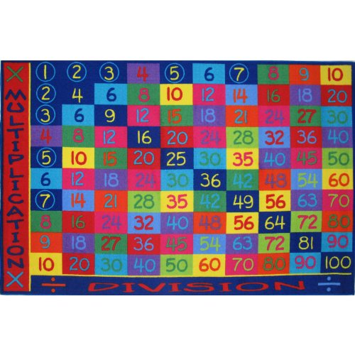 Multiplication Area Rug 8'X11' front-406429
