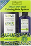 Andalou Naturals Age DefyingThinning Hair System Treatment