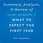 Summary, Analysis & Review of Heidi Murkoff's What to Expect the First Year by Eureka |  Eureka