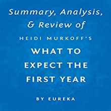 Summary, Analysis & Review of Heidi Murkoff's What to Expect the First Year by Eureka | Livre audio Auteur(s) :  Eureka Narrateur(s) : Susan Murphy