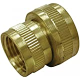"Jones Stephens Corporation G20032 Lead Free 3/4"" X 3/4"" Brass Garden Hose Fitting, Female Hose To Female Pipe..."