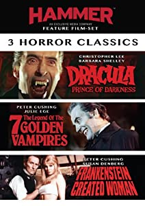 3 Film Hammer Horror Set [Import]