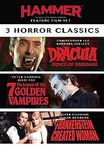 3 Film Hammer Horror Set [Import]