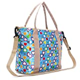 Multi-function Fashionable Mother Diaper Tote Travel Bag With Ajustable Strap Baby Nappy Bags (Style I)