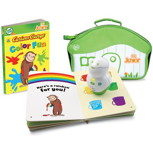 51XIUcBMEhL Reviews Leap Frog Tag Junior Curious George Book & Carrying Case
