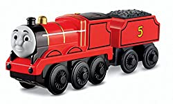 Thomas Wooden Railway - Battery-Operated James