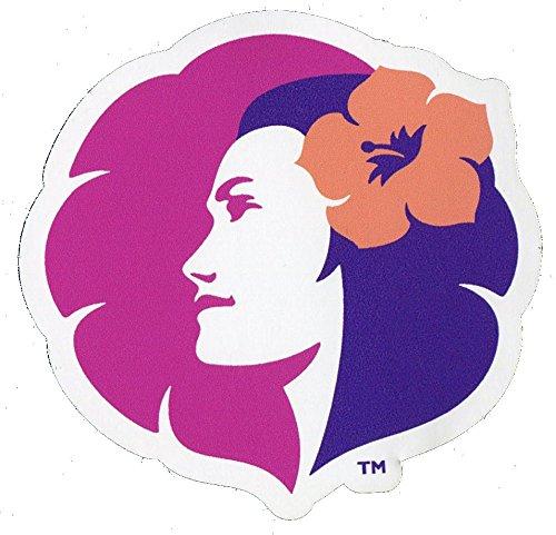ドレスアップステッカー ハワイアン航空ロゴ 「Pualani(プアラニ)」 スーツケースカスタマイズ用シール