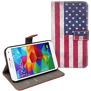 SAMSUNG GALAXY S5 United States Flag case: Cell Phones & Accessories