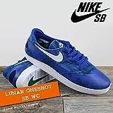 NIKE(ナイキ) ルナ ワンショット LUNAR ONESHOT SB WC Game Royal/White/メンズ(men's) 靴 スニーカー (645019-401)