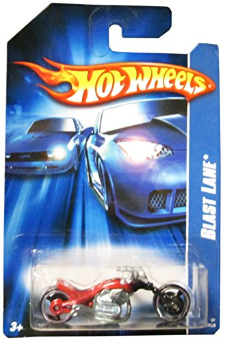 Hot Wheels #2006-137 Blast Lane Red 07 Card Collectible Collector Car Mattel Hot Wheels 1:64 Scale