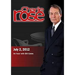 Charlie Rose - An hour with Bill Gates (July 2, 2012)