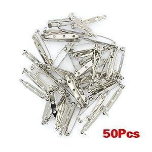 TOOGOO(R) Approx.50pcs posterior de la broche de seguridad atrapa pins bar 32 mm   más información y comentarios