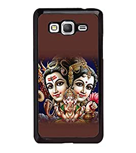 printtech Lord God Shiva Parvati Family Back Case Cover for Samsung Galaxy Grand Prime G530h