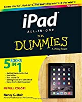 iPad All-in-One For Dummies, 7th Edition Front Cover