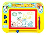 Kidolino Magnetic Drawing Board for Kids with 2 Stamps and 1 Pen, Travel Size