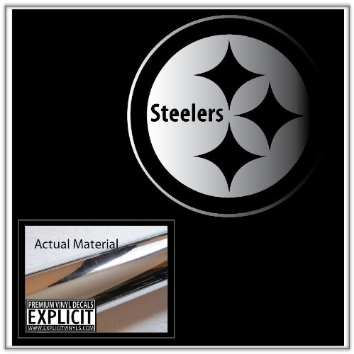 Pittsburgh Steelers Chrome Vinyl Decal