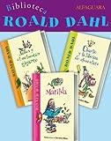Biblioteca Roald Dahl (Pack 3 ebooks): Matilda, Charlie y la fábrica de chocolate y James y el melocotón gigante (Spanish Edition)