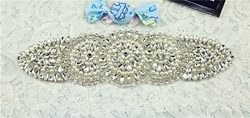 Crystal-Beaded-Appliques-Trendy-Bridal-Applique-Trim-Wholesal-Rhinestone-Applique-best-seller-Applique-Accessories