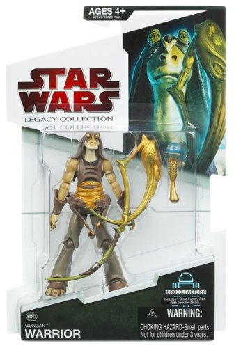 Gungan Warrior with Horn BD#07 Star Wars Legacy Collection Action Figure - 1