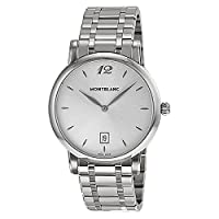 Montblanc Star Classique Silver Dial Stainless Steel Mens Watch 108768 by Montblanc