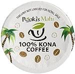 Pooki's Mahi 100% Kona Coffee, Regular, Single Serve for Keurig K-Cup Brewers, Medium Roast, 24 Count from Pooki's Mahi