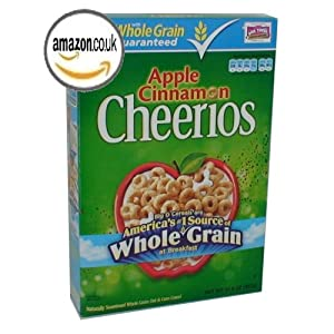 Apple Cinnamon Cheerios Cereal 12.9 oz