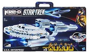 Hasbro A3137E24 - KRE-O Star Trek USS Enterprise - Baukasten