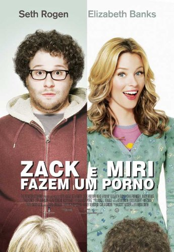 Zack and Miri Make A Porno 11 x 17 Movie Poster - Portuguese Style A