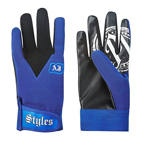 aj-styles-blue-pro-wrestling-fight-gloves