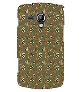 PrintDhaba Pattern D-5271 Back Case Cover for SAMSUNG GALAXY S DUOS S7562 (Multi-Coloured)