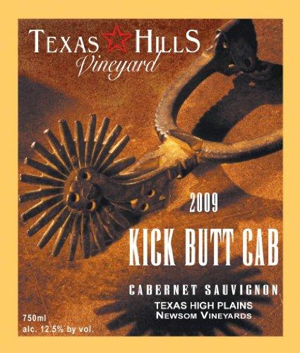 2010 Texas Hills Vineyard Kick Butt Cabernet Sauvignon 750 Ml