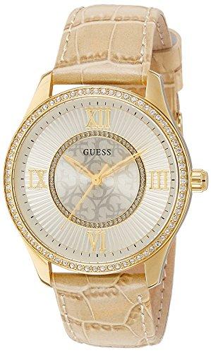 Guess  W0768L2 - Reloj de lujo para mujer, color blanco / dorado