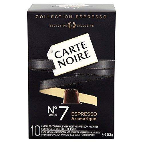 Carte Noire Espresso Number 7 Aromatique 10 Coffee Capsules 53 g (Pack of 4)