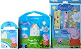 Peppa Pig Totally Awesome Boredom Buster Mega Gift Pack - Carry Along Colouring Set / Travel Kit / Sticker Paradise