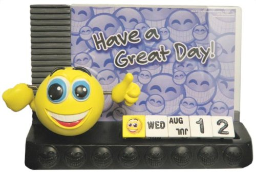 Smiley Central Photo Frame with Calendar - 1