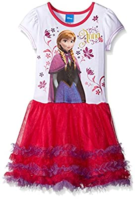 Disney Girls' Frozen Anna Tutu Dress