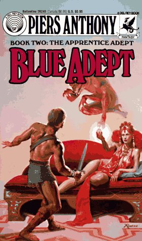 Image for Blue Adept (Book Two: The Apprentice Adept)
