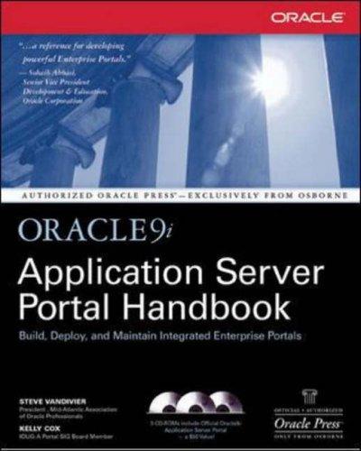 Oracle9i Application Server Portal Handbook (Oracle Press Series)