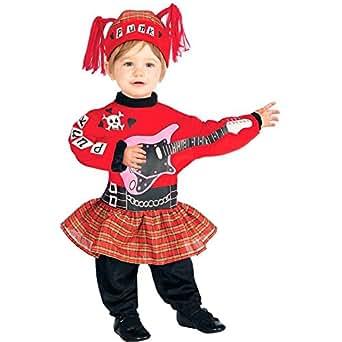 Amazon.com: Lil Punk Rock Star Girl Baby Costume - Infant