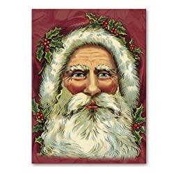Saint Nick - 2-sided Christmas Gift Tags (set of 6)