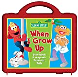 Sesame Street When I Grow Up Book and Magnet Set: Storybook and Magnetic Dress-up Dolls