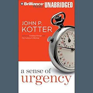 A Sense of Urgency Audiobook